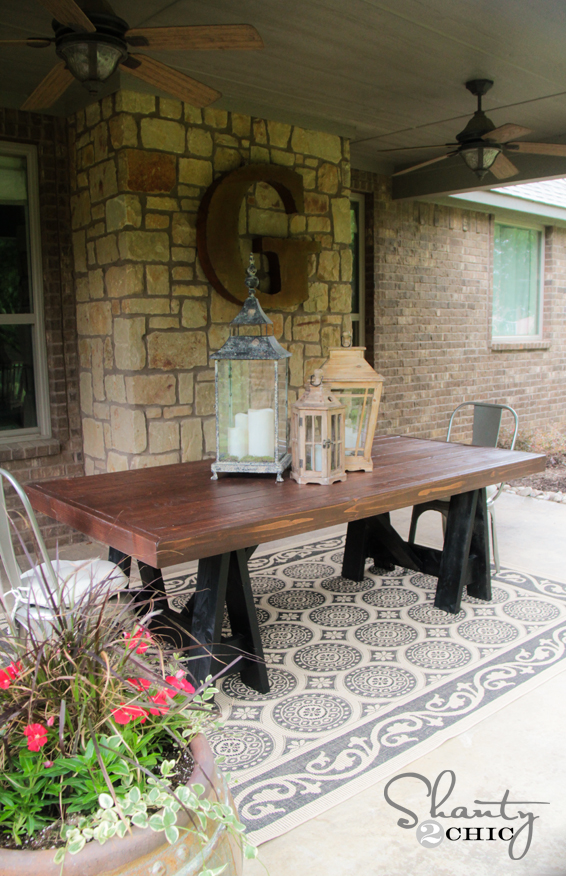 diagenesis crafty homemade outdoor table
