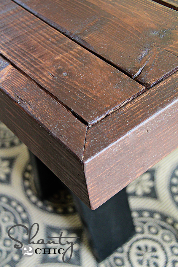 how to make stained wood look old