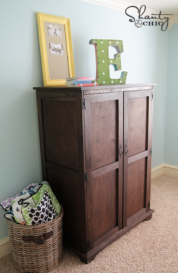 Pottery Barn Kids DIY Armoire