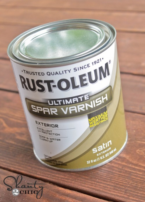 RustOleum Spar Varnish