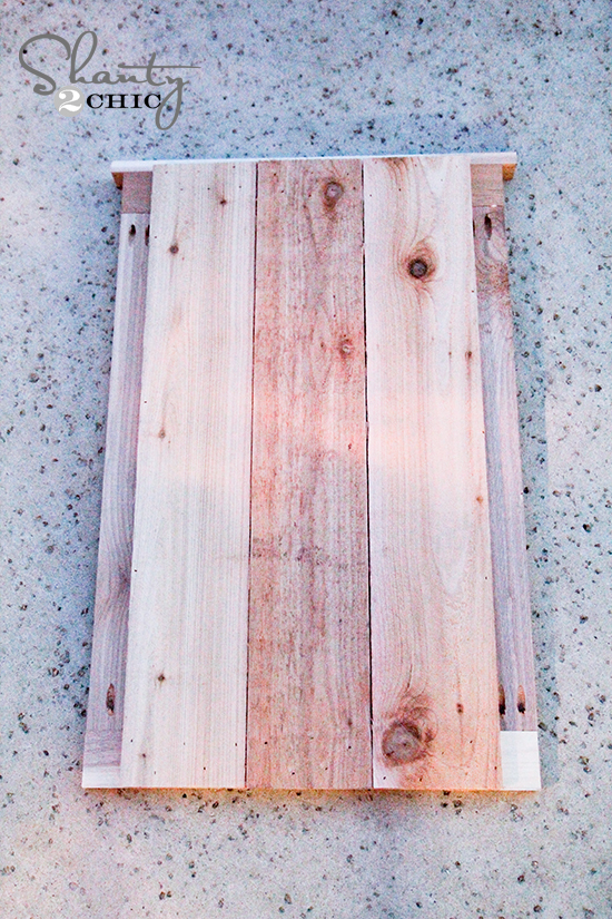 Cedar Planters from Fence Panels