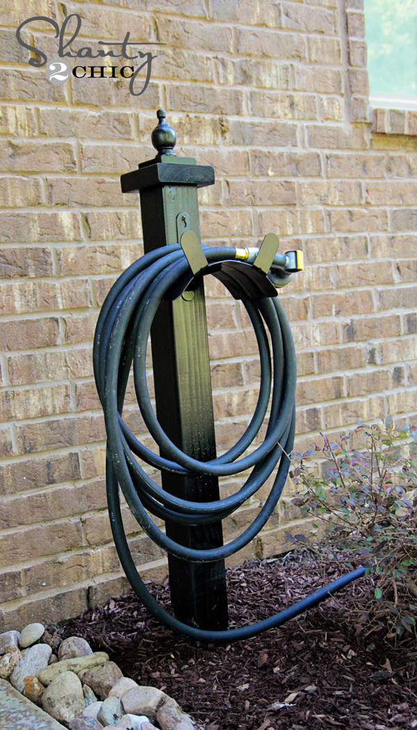 Delicieux Garden Hose Holder DIY