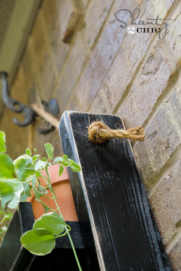 Hanging Planter with Rope