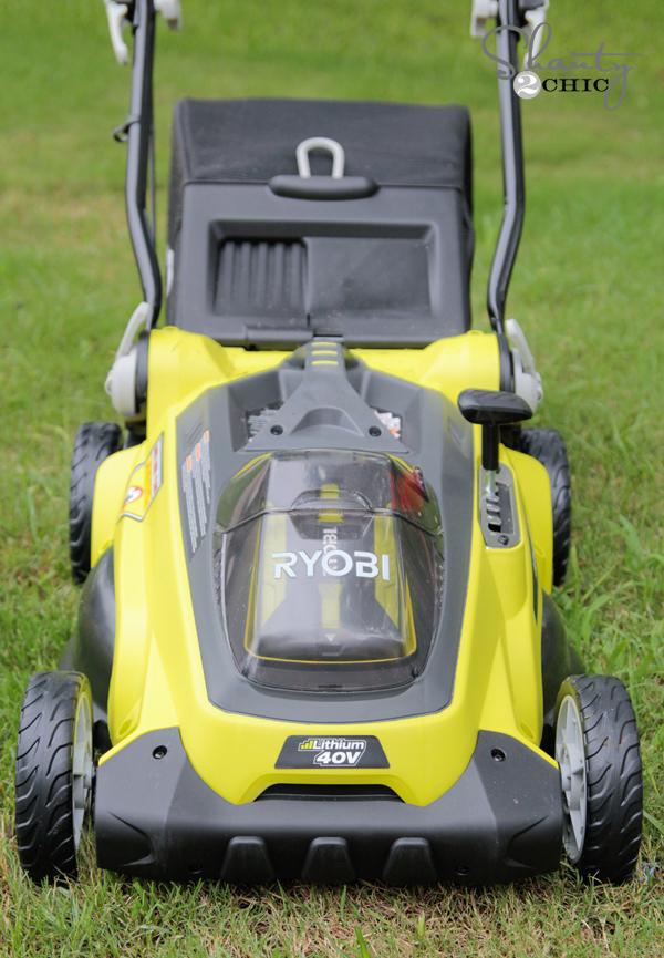 Ryobi Battery Mower