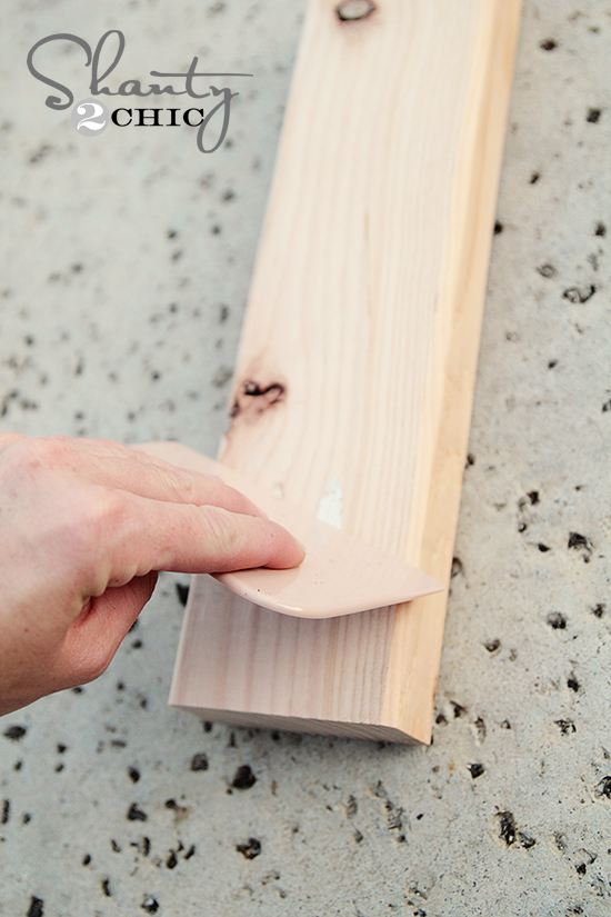 Scraper for Wood Putty