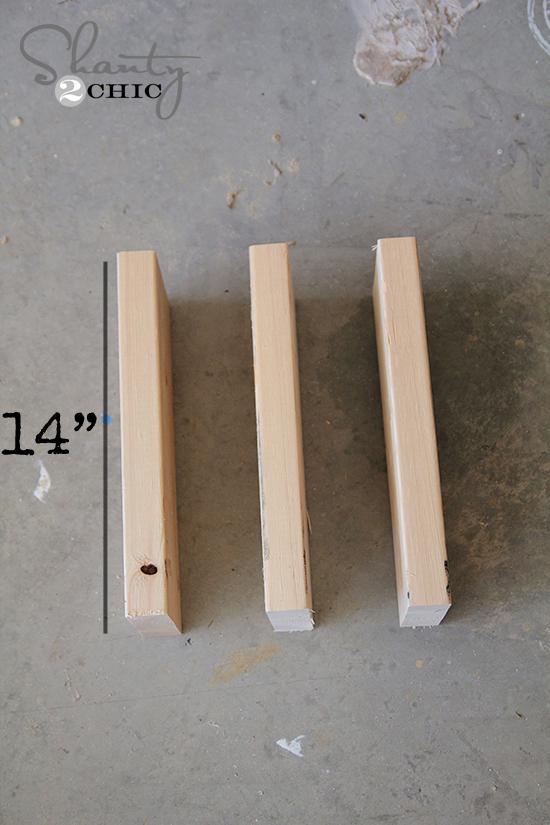 Shelf Pieces for Wall Planter