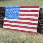 Wood Pallet Art – American Flag