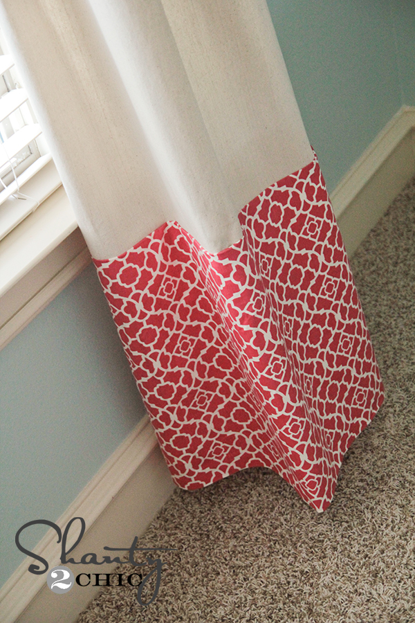 Curtains No Sew Baby Shanty 2 Chic