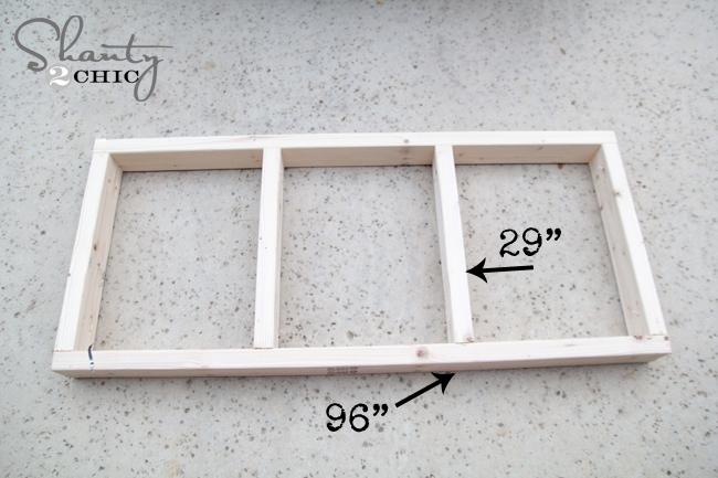 Frame for Garage Cart