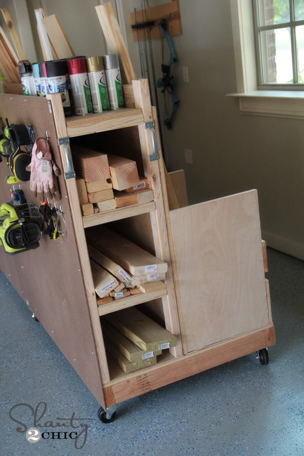 Wood Woodworking Organization Projects PDF Plans