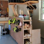Garage Organization! DIY Lumber Cart