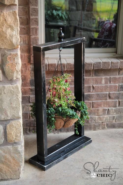 Hanging Basket Stand