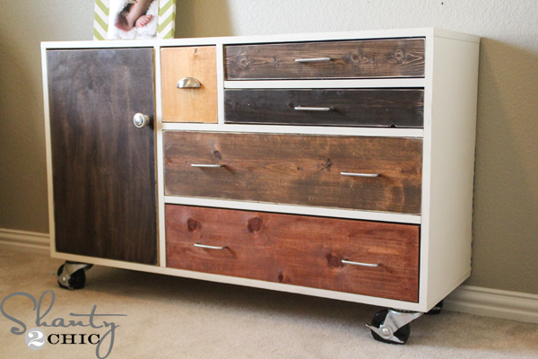 Diy Furniture Dresser Shanty 2 Chic