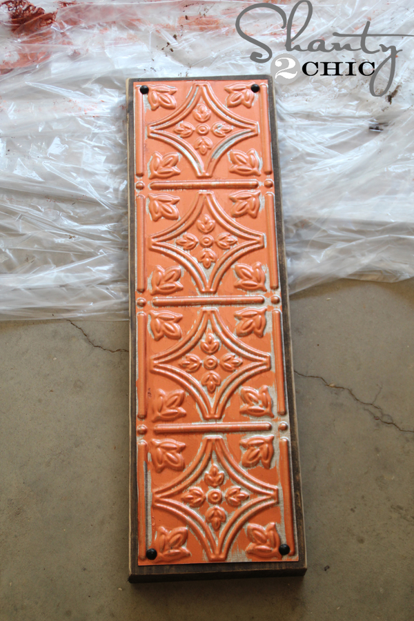 Attaching-Metal-Tile-to-Board