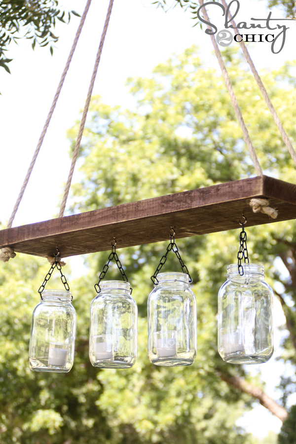mason jar chandelier part 3 shanty 2 chic