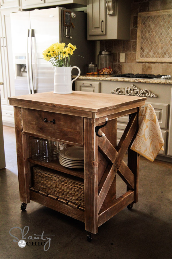 Wonderful Kitchen Island DIY