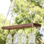 Make an Outdoor Mason Jar Chandelier for $10