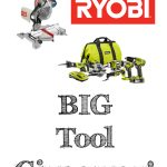 BIG Ryobi Tools Giveaway!
