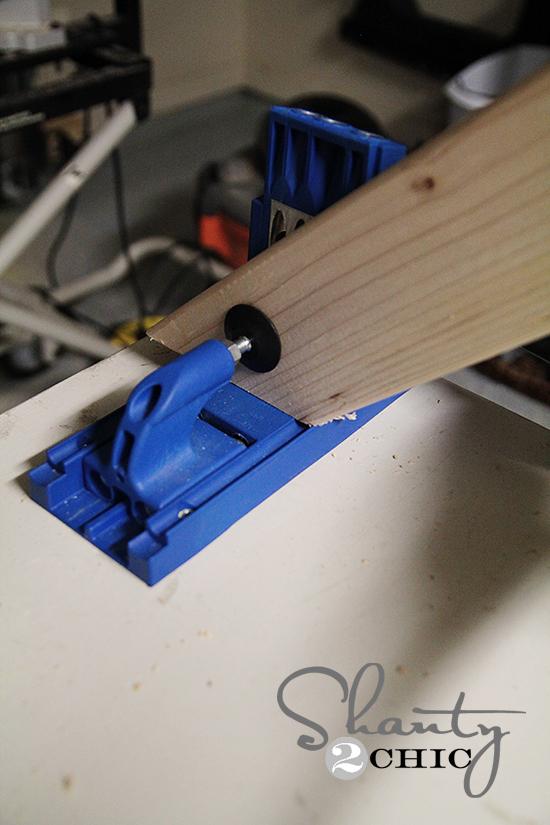 angled cut on kreg jig