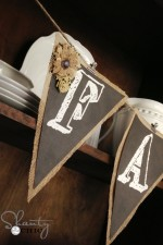 Free Printable Chalkboard Banner Letters!