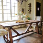 DIY Restoration Hardware Dining Table!