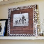 DIY Photo Frame with Metal Ribbon