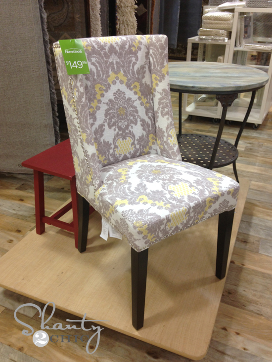 Dining Chair Homegoods. HomeGoods Giveaway    Shanty 2 Chic