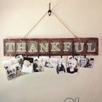 DIY Thankful Photo Board with Free Printables!
