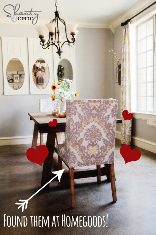 HomeGoods Dining Chairs