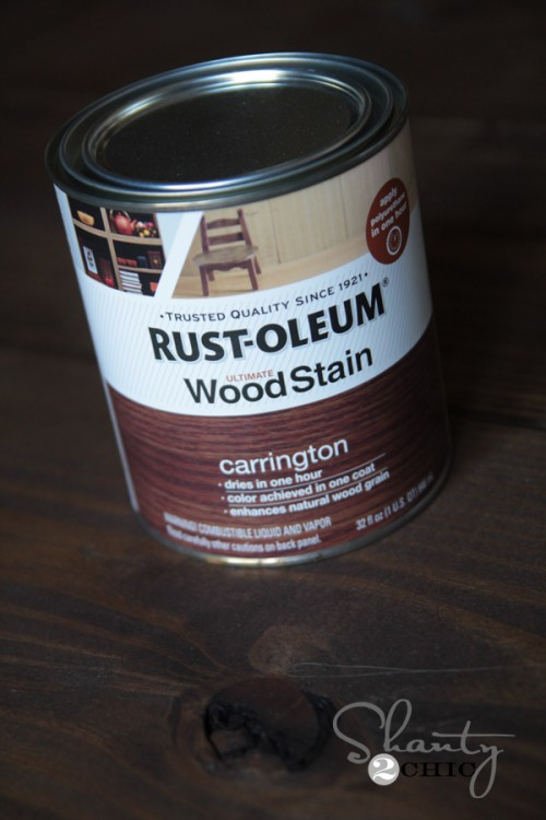 Rustoleum Carrington Stain