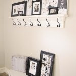 DIY Shelf with Hooks for under $40!