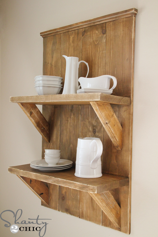 Check out my easy diy shelf made from reclaimed wood for Easy diy shelves