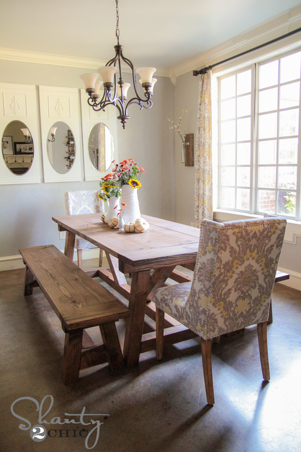 Beautiful Bench Dining Room Tables Gallery