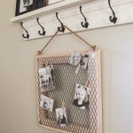 DIY Metal Memo Board!