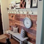 My $100 Plank Wall!