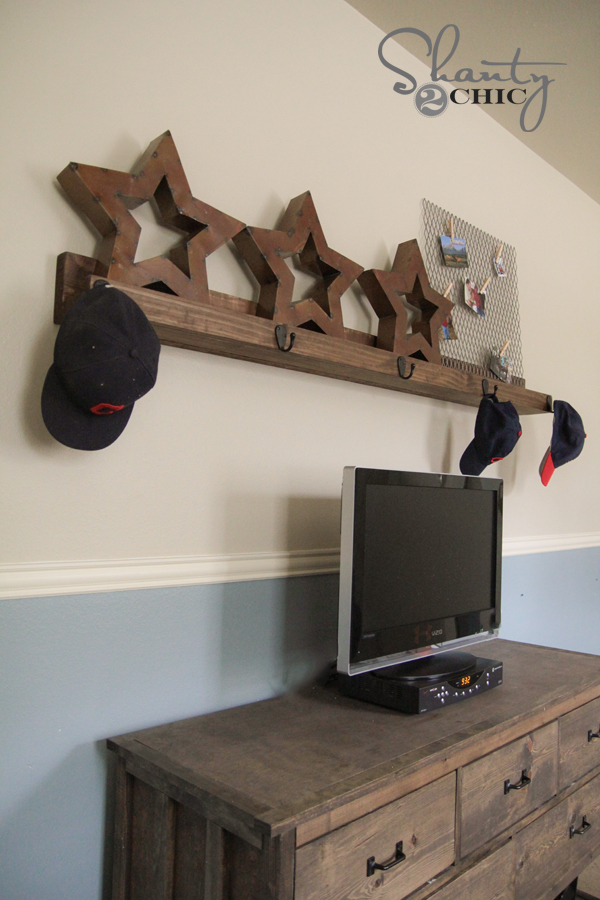 DIY Wood Ledge