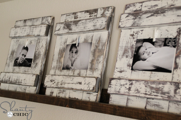 Distressed-Picture-Frame