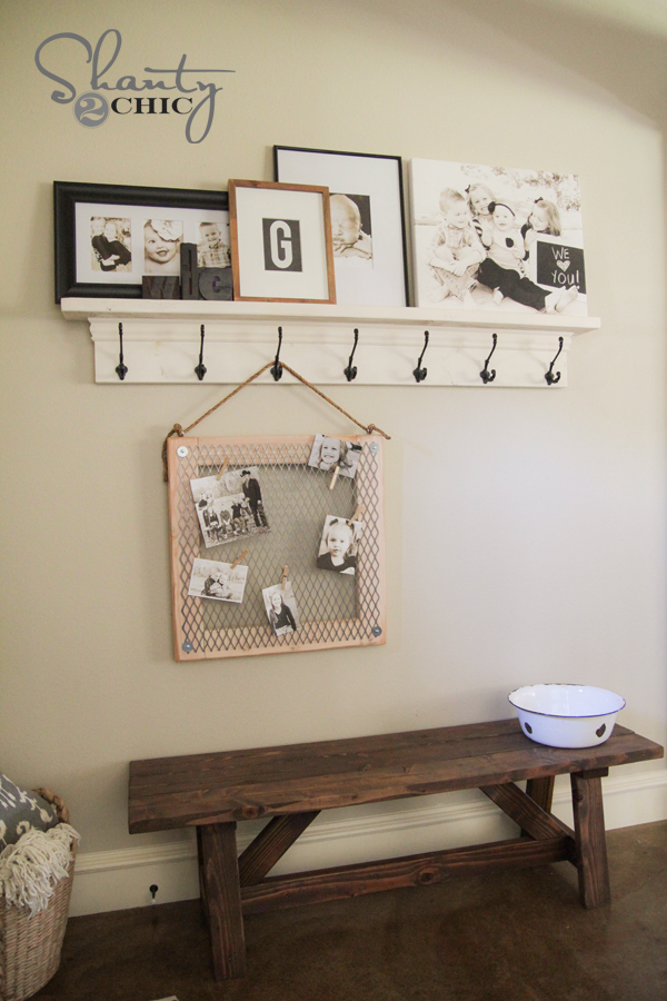 Diy Metal Memo Board Shanty 2 Chic
