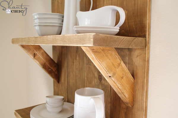 Check out my easy diy shelf made from reclaimed wood for Easy way to make shelves