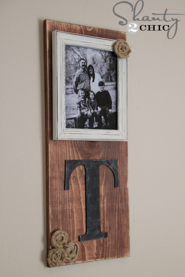 DIY Picture Frame  Shanty 2 Chic