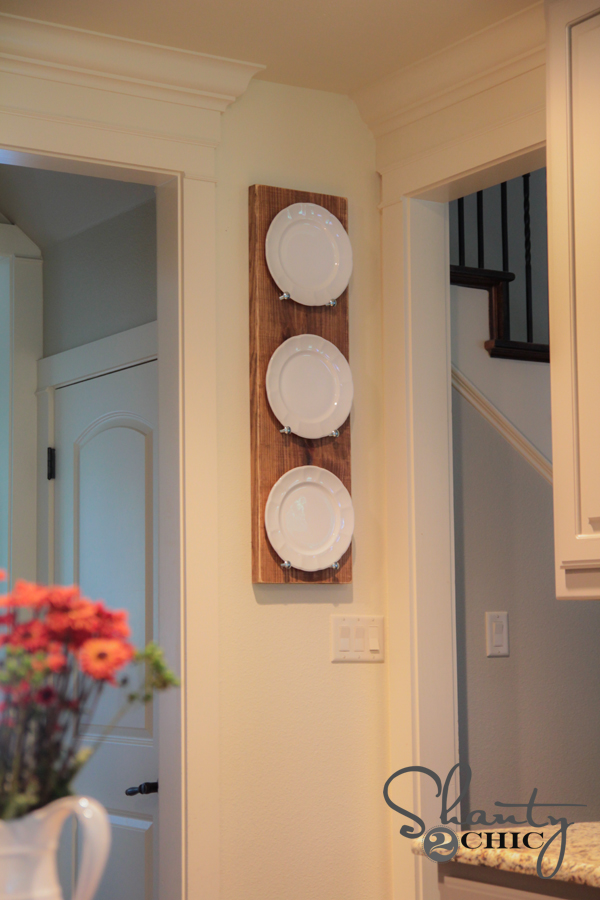 Plate Rack DIY Shanty2Chic