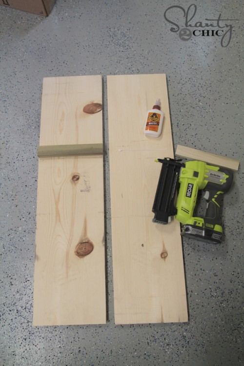 Build a wood plant stand