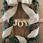 DIY Rectangle Christmas Wreath