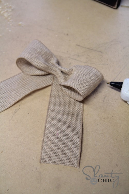 How to make a bow 2