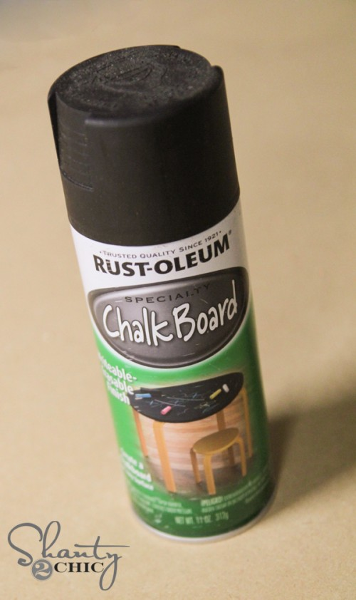 Rustoleum Chalkboard Spray Paint