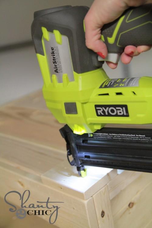 Ryobi Cordless Nail Gun