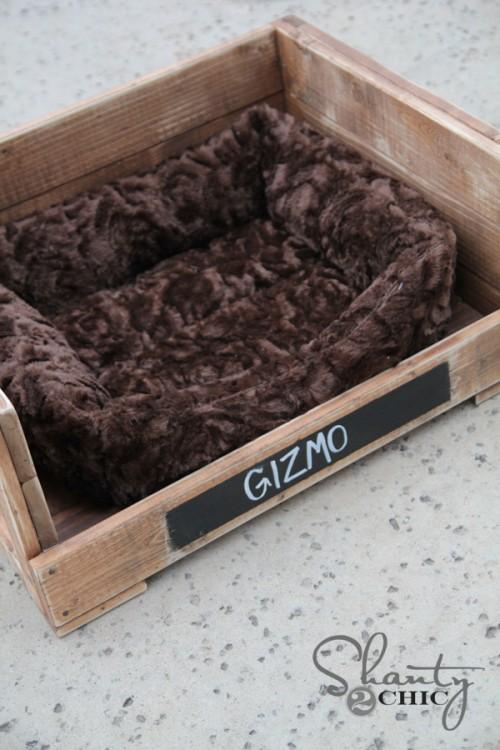 Tutorial for DIY Dog Bed