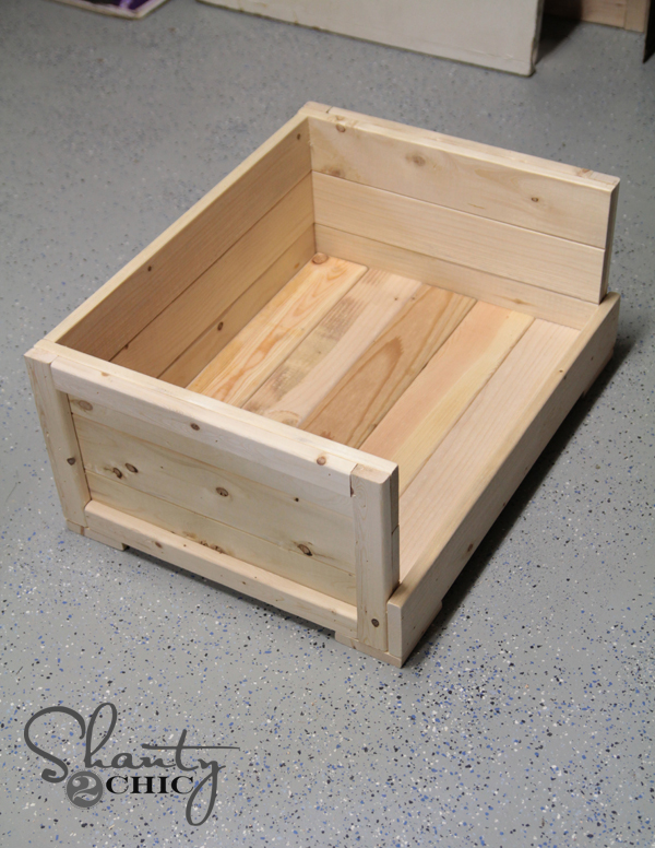 Wood Dog Bed Design Plans