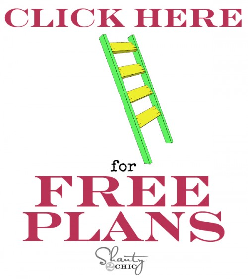 Blanket Ladder Free Plans