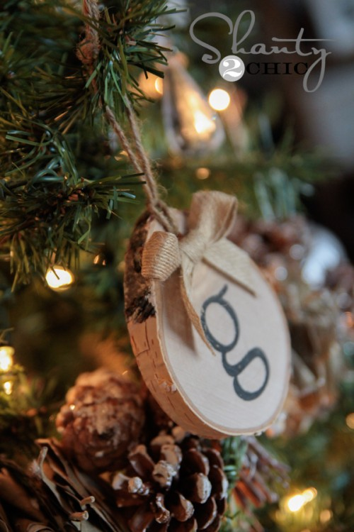 DIY Birch Ornament